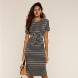 NWT Naomi striped dress